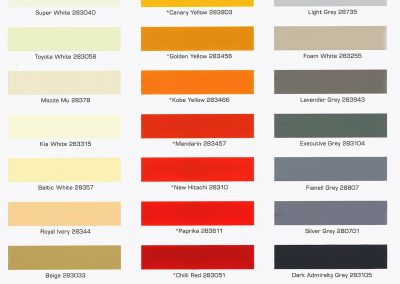 Color Card - Industrial 01
