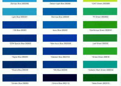 Color Card - Industrial 02
