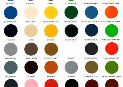 Color Card - LUCKU 01